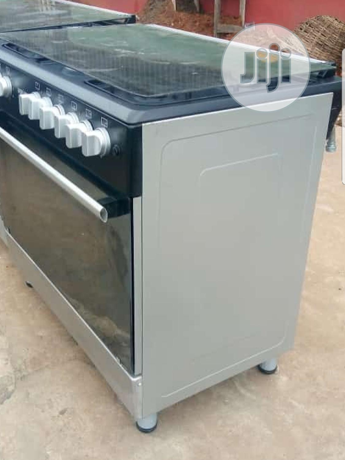 2 Electric And 4 Burner Gas Cooker With Large Oven   Kitchen Appliances for sale in Yaba, Lagos State, Nigeria