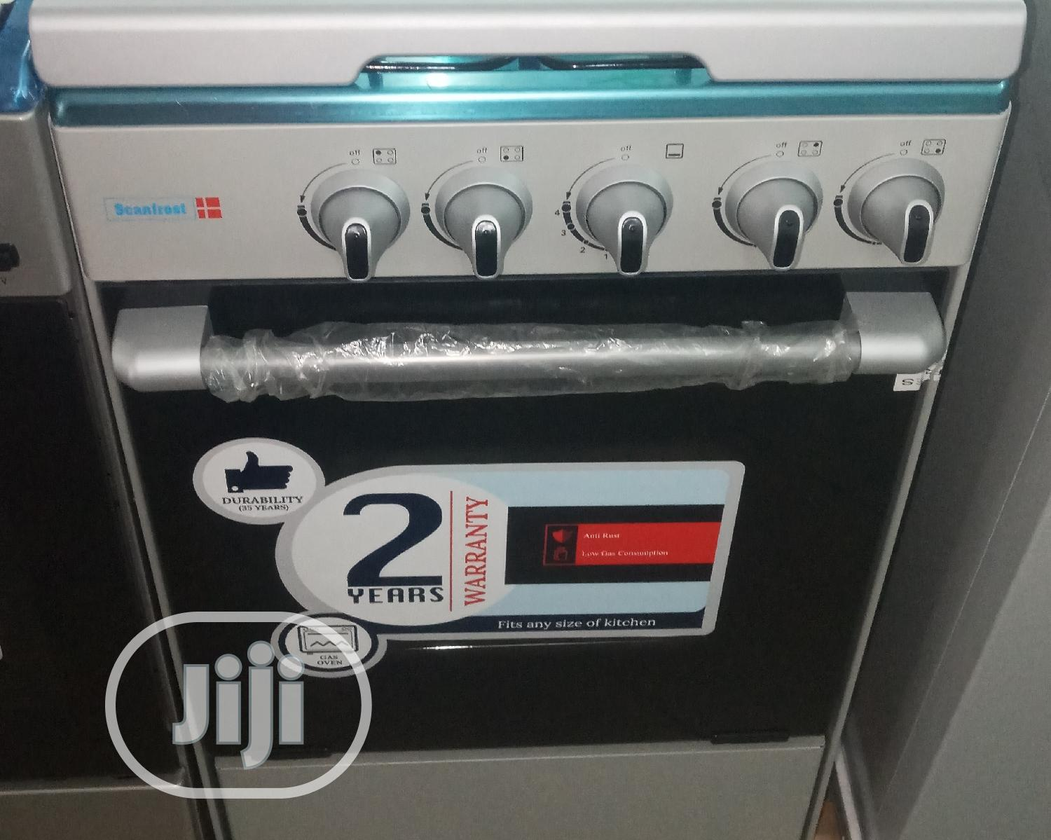 Archive: Scanfrost Gas Cooker 6x6