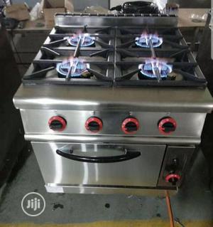 4 Burner Industrial Gas Cooker Wit Oven   Restaurant & Catering Equipment for sale in Lagos State, Lekki