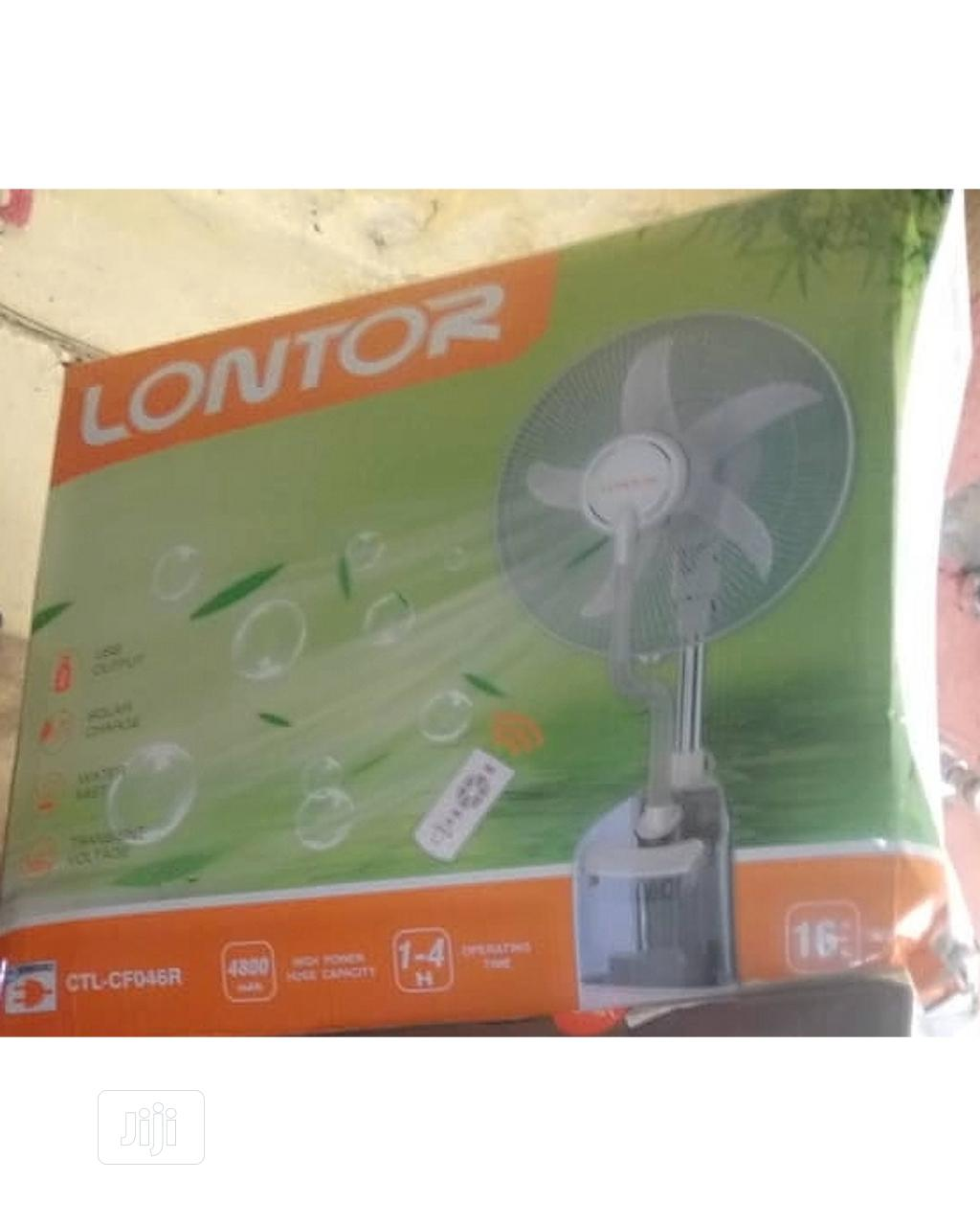 Lontor Rechargeable Mist Fan