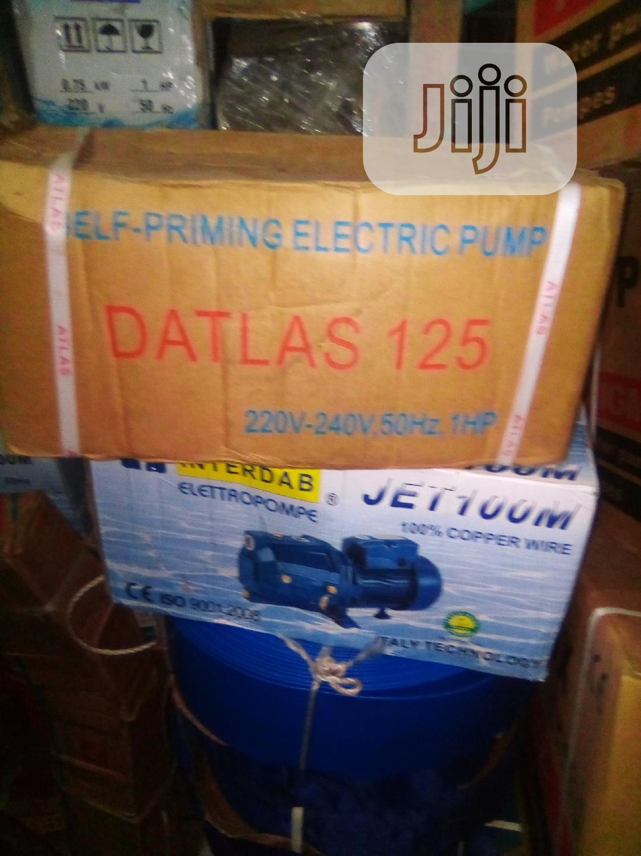 Archive: 1hp Atlas Pumping Machine