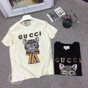 Original Gucci Round Neck T-Shirt | Clothing for sale in Lagos State, Lagos Island (Eko)