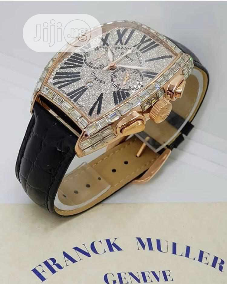 Archive: Frank Muller Wristwatch