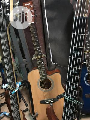 Yamaha Semi Acoustic Guitar | Musical Instruments & Gear for sale in Lagos State, Ojo