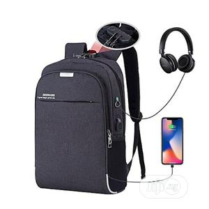 Waterproof Antitheft Backpack With USB Charger   Bags for sale in Oyo State, Ido