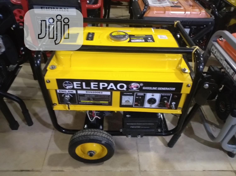 Archive: Elepaq Generator Sv6200