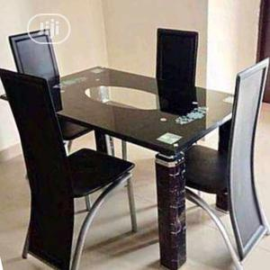 Strong 4 Seaters Glass Dining Table | Furniture for sale in Lagos State, Apapa