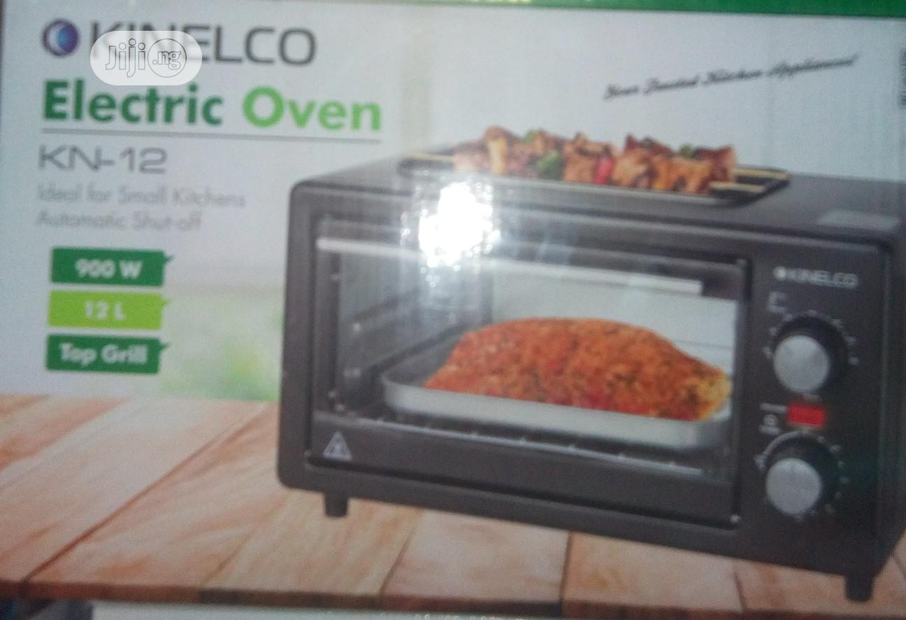 Archive: Kinelco 12l Electric Oven With Automatic Shut Off