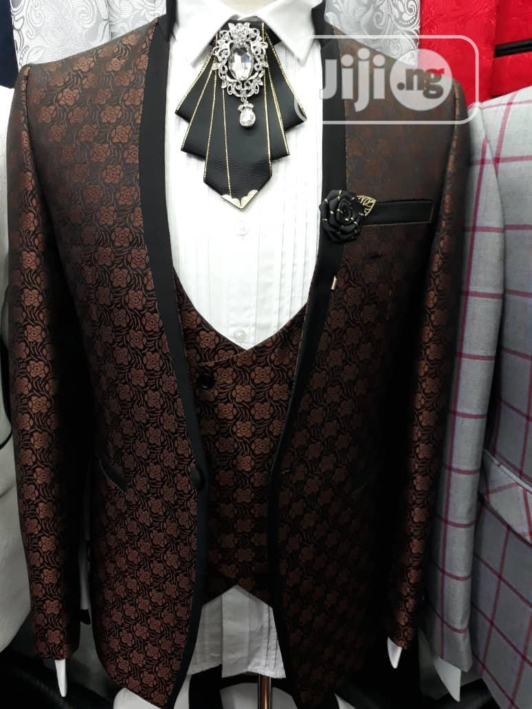 Archive: St Vincent Three Piece Suit Design.