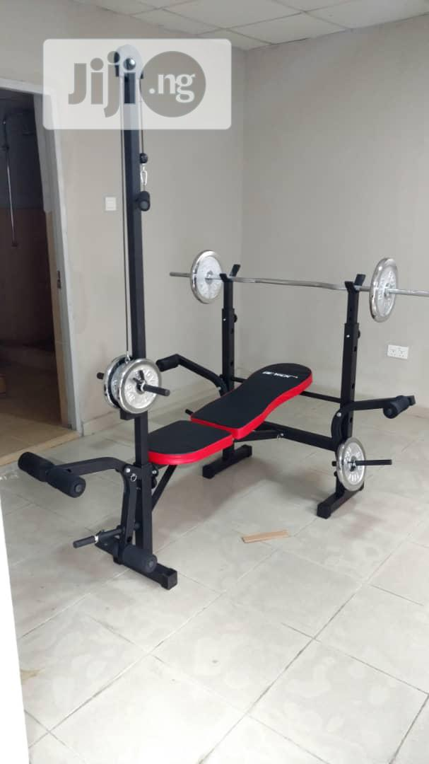 Archive: Weight Bench With Lat Pull