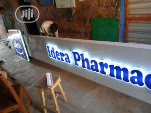 Acrylic Signage With Led Ligth   Printing Services for sale in Lagos State, Ikotun/Igando