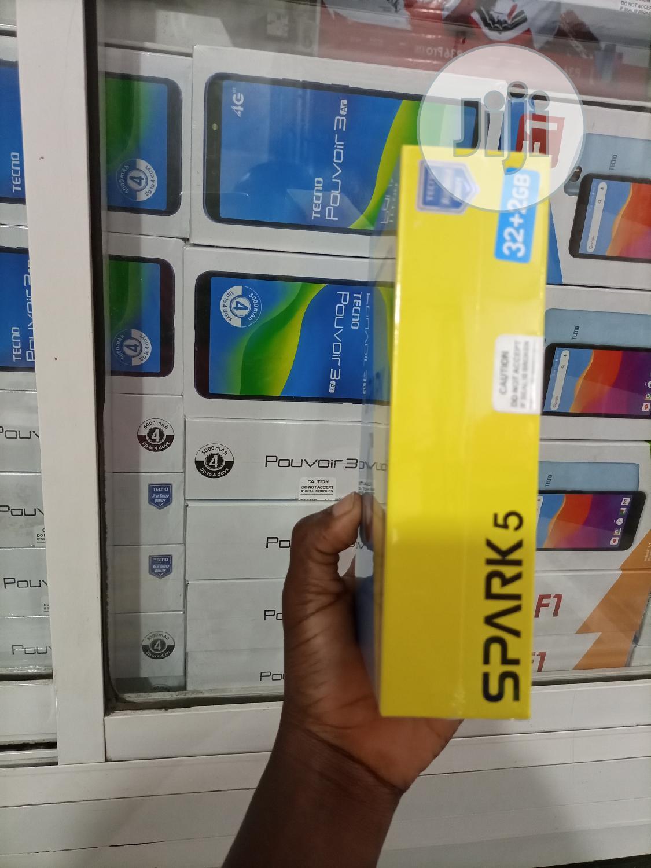 New Tecno Spark 5 32 GB Blue   Mobile Phones for sale in Ikeja, Lagos State, Nigeria