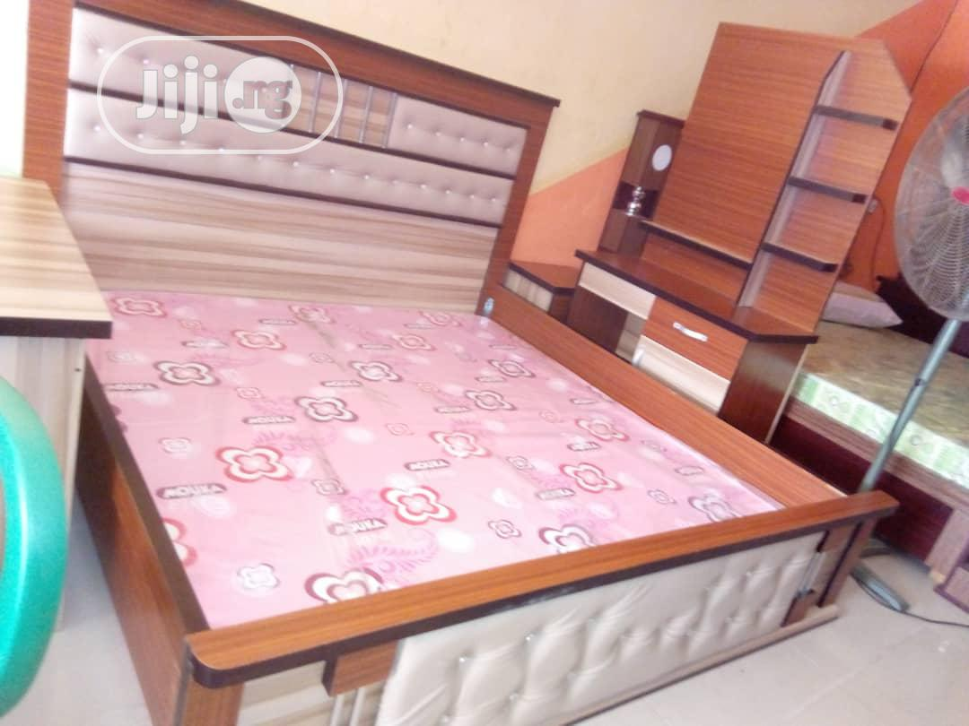 Strong 6 By 6 Bed With Sides Drawers
