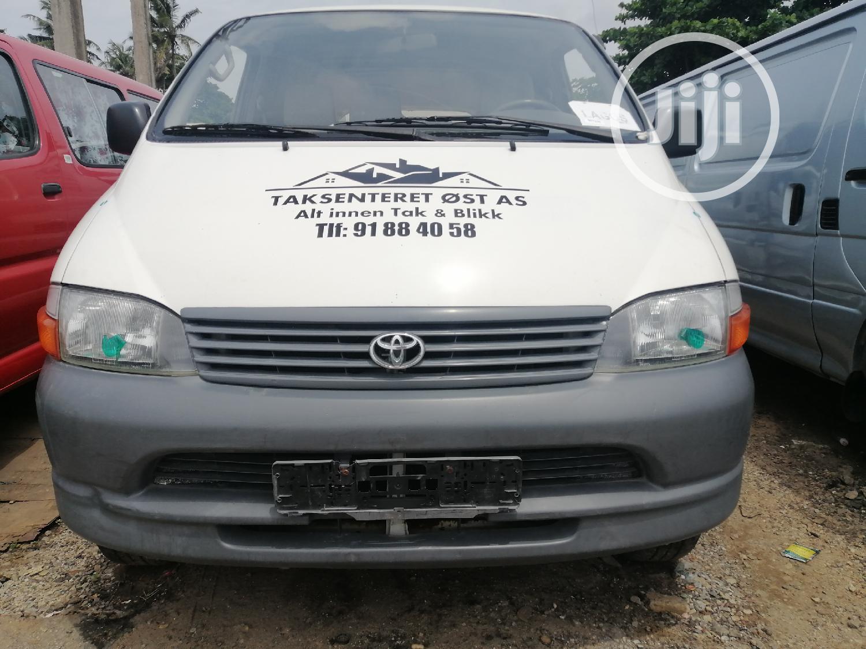 Toyota Hiace 2002 White   Buses & Microbuses for sale in Apapa, Lagos State, Nigeria