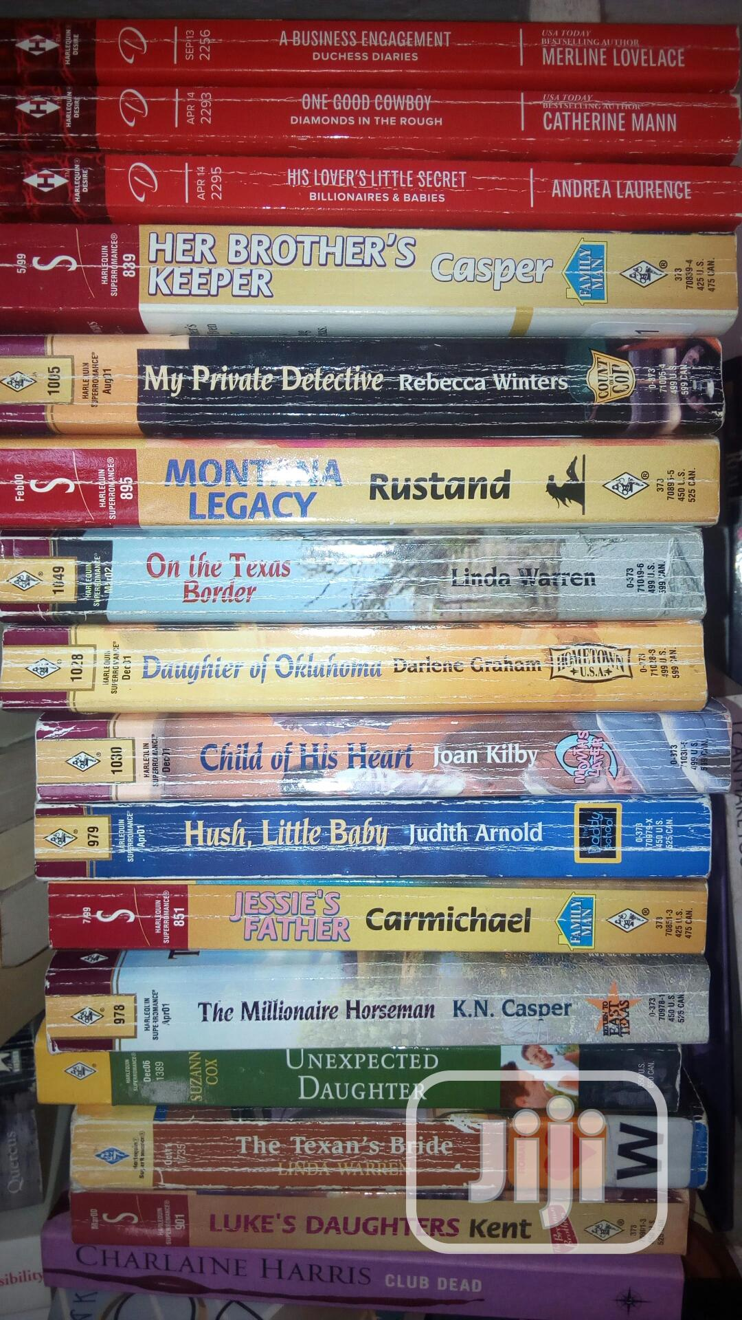 Collection Of Romance   Books & Games for sale in Surulere, Lagos State, Nigeria