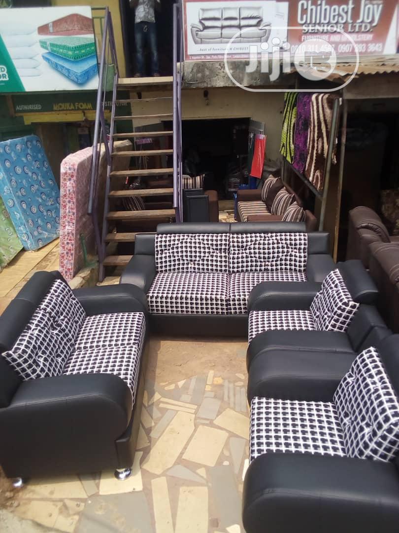 Unique Fabric Sofas Chair 7seater Set