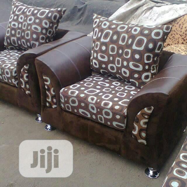 Unique Fabric Sofas Chair 7seater Set | Furniture for sale in Ikeja, Lagos State, Nigeria