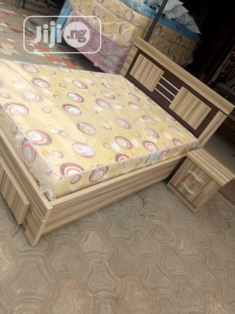 Executive 4 And D Half Bed With One Side Drawer