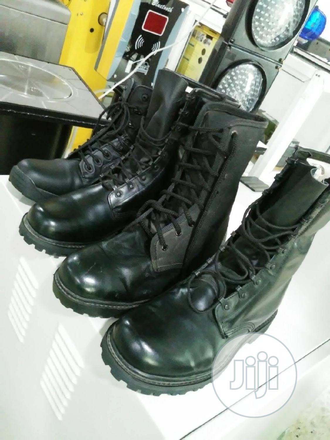 Black Boot For Security   Safetywear & Equipment for sale in Wuse, Abuja (FCT) State, Nigeria