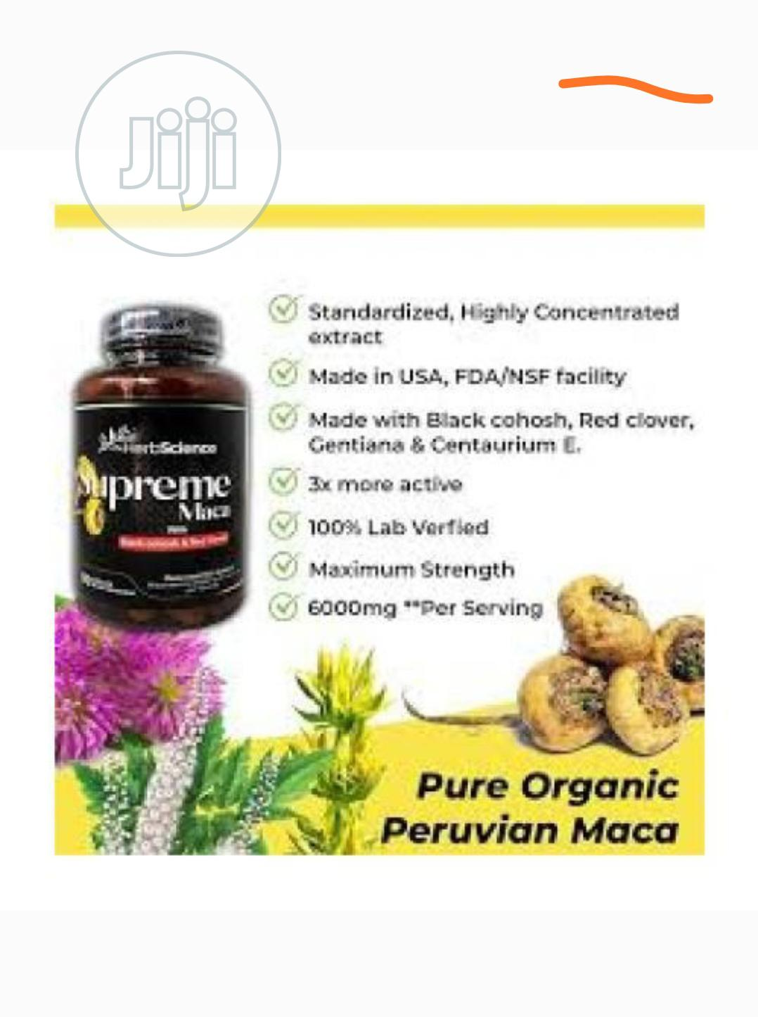 Supreme Maca 90 Capsules For Butt And Hip Lift