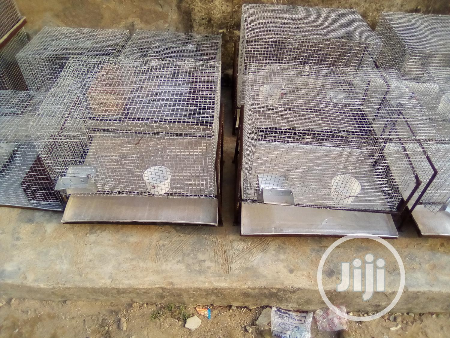 White Mouse And Cage | Other Animals for sale in Alimosho, Lagos State, Nigeria