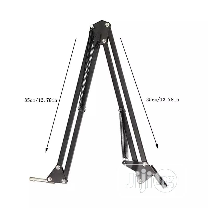 Adjustable Studio /Recording Microphone Standwith Mic Holder | Accessories & Supplies for Electronics for sale in Ojodu, Lagos State, Nigeria