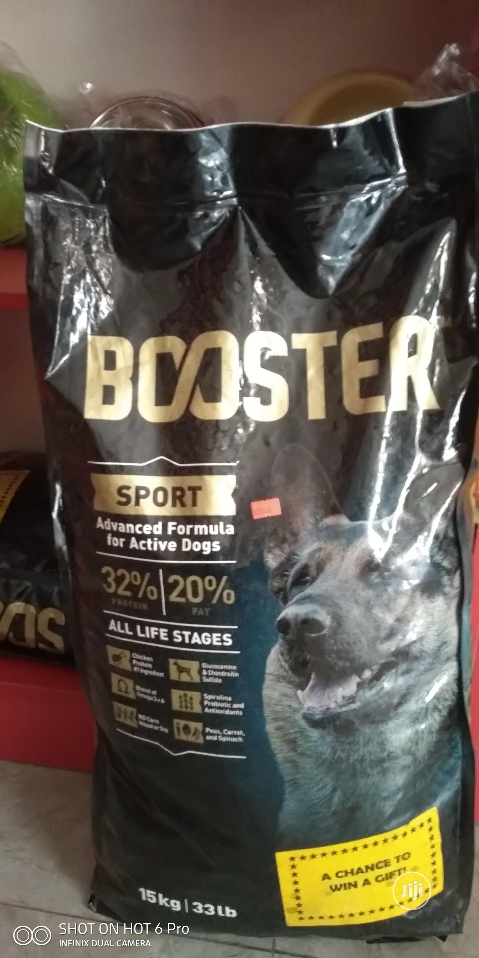 Booster Sport Dog Food For Sale
