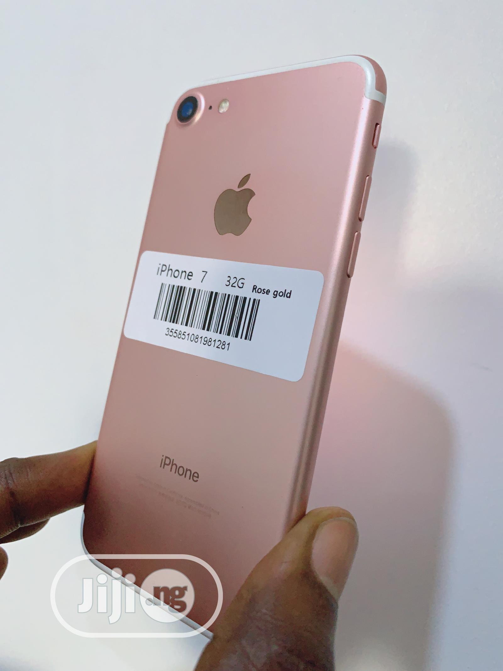 Apple iPhone 7 32 GB Gold | Mobile Phones for sale in Ikeja, Lagos State, Nigeria