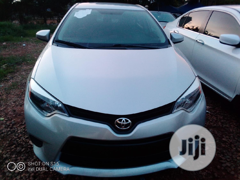 Toyota Corolla 2015 Silver