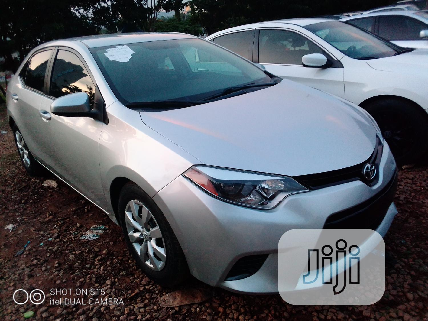 Toyota Corolla 2015 Silver   Cars for sale in Central Business Dis, Abuja (FCT) State, Nigeria