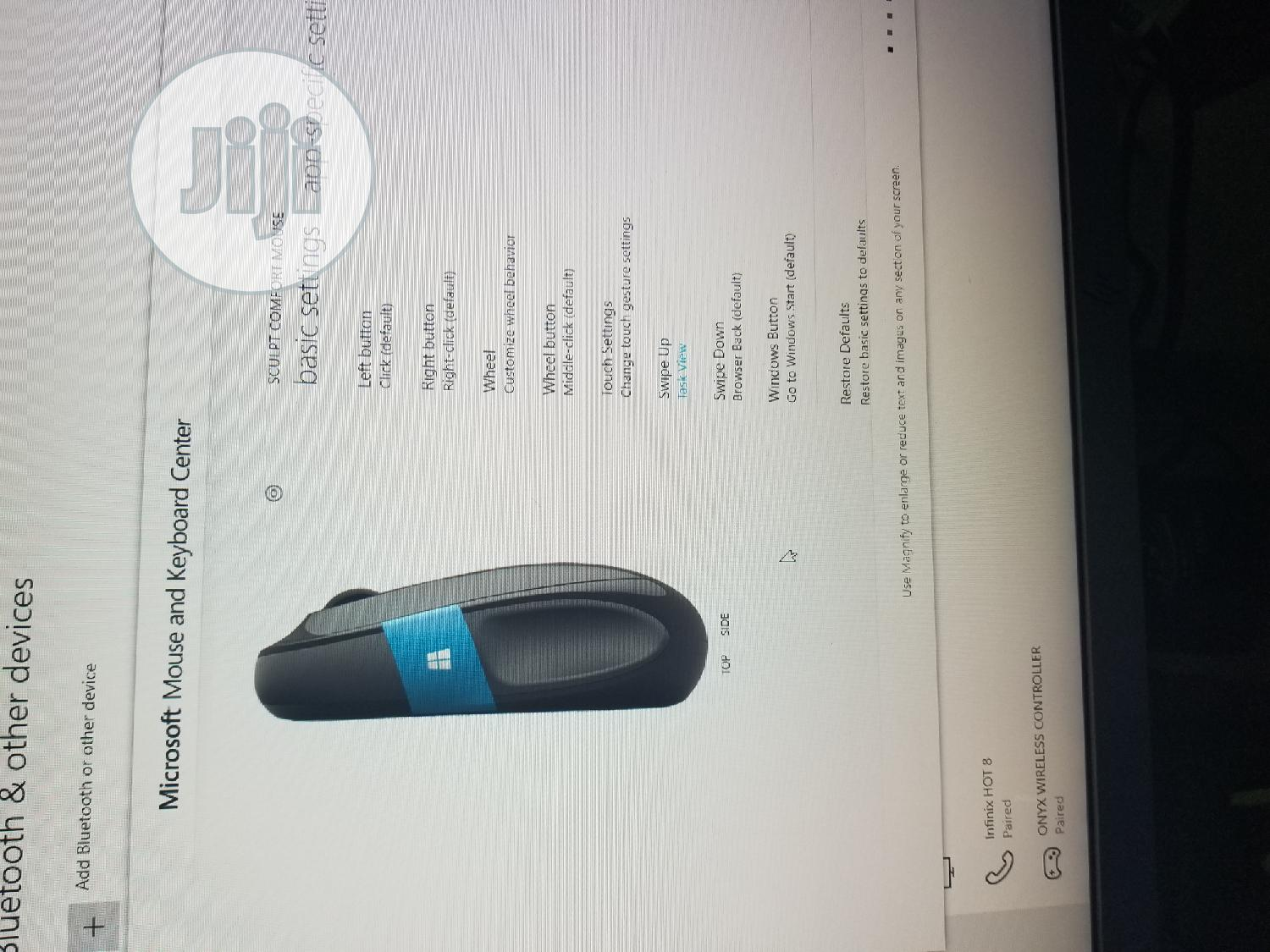 New Microsoft Sculpt Comfort Mouse   Computer Accessories  for sale in Ikeja, Lagos State, Nigeria