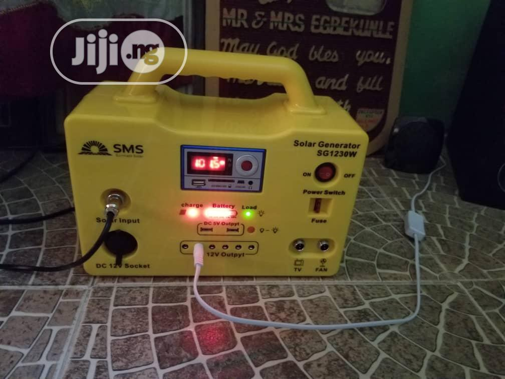 Archive: 30w All In One Solar Generator With One Year Warranty