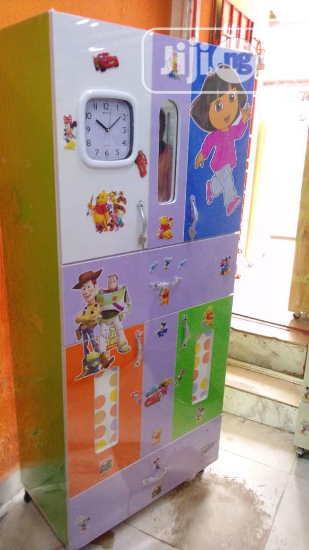 Children Foreign Wood Wardrobe | Children's Furniture for sale in Lagos Island, Lagos State, Nigeria