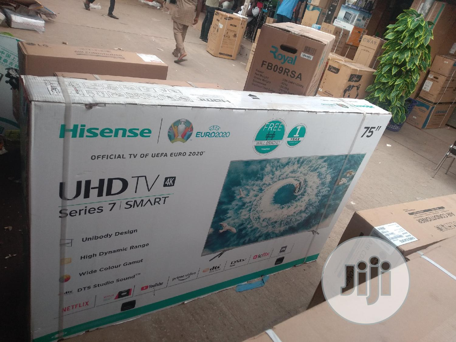 Hisense Television 75inches Smart 4k Uhd | TV & DVD Equipment for sale in Wuse, Abuja (FCT) State, Nigeria