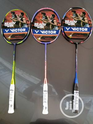 Professional Victor Badminton Racket   Sports Equipment for sale in Rivers State, Port-Harcourt