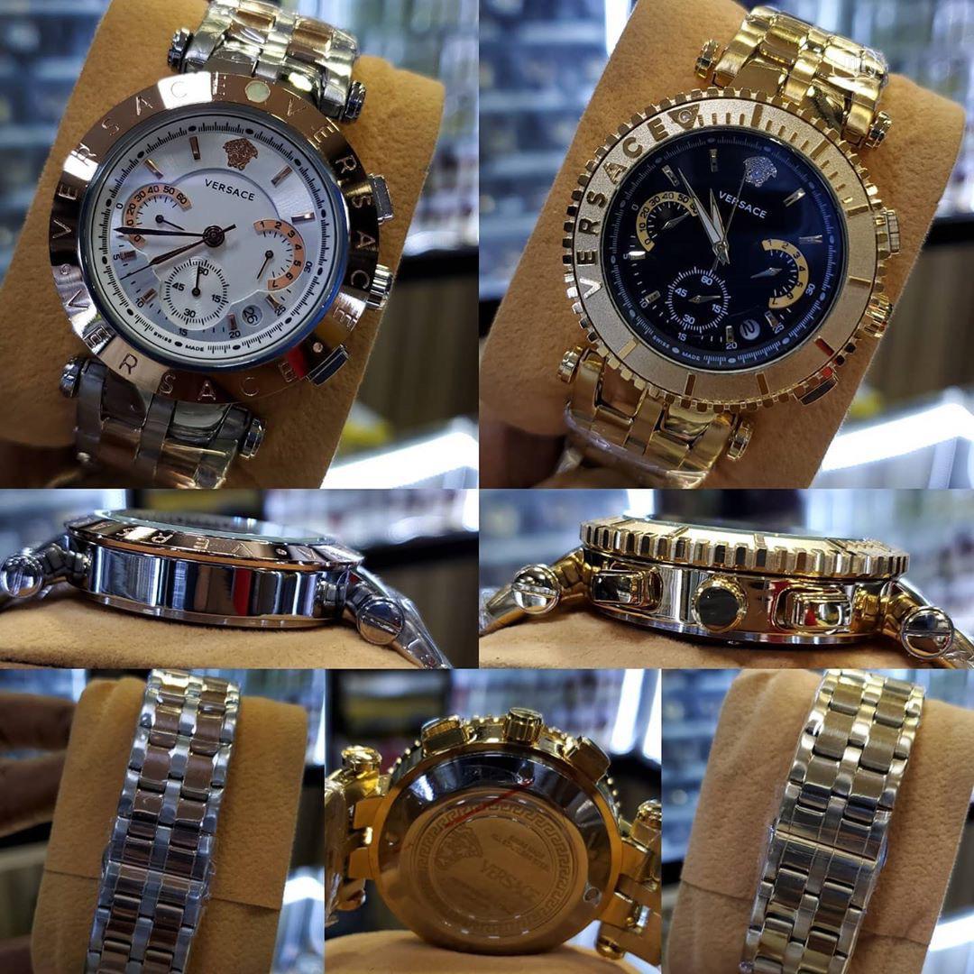 Original Versace Chain Wristwatch