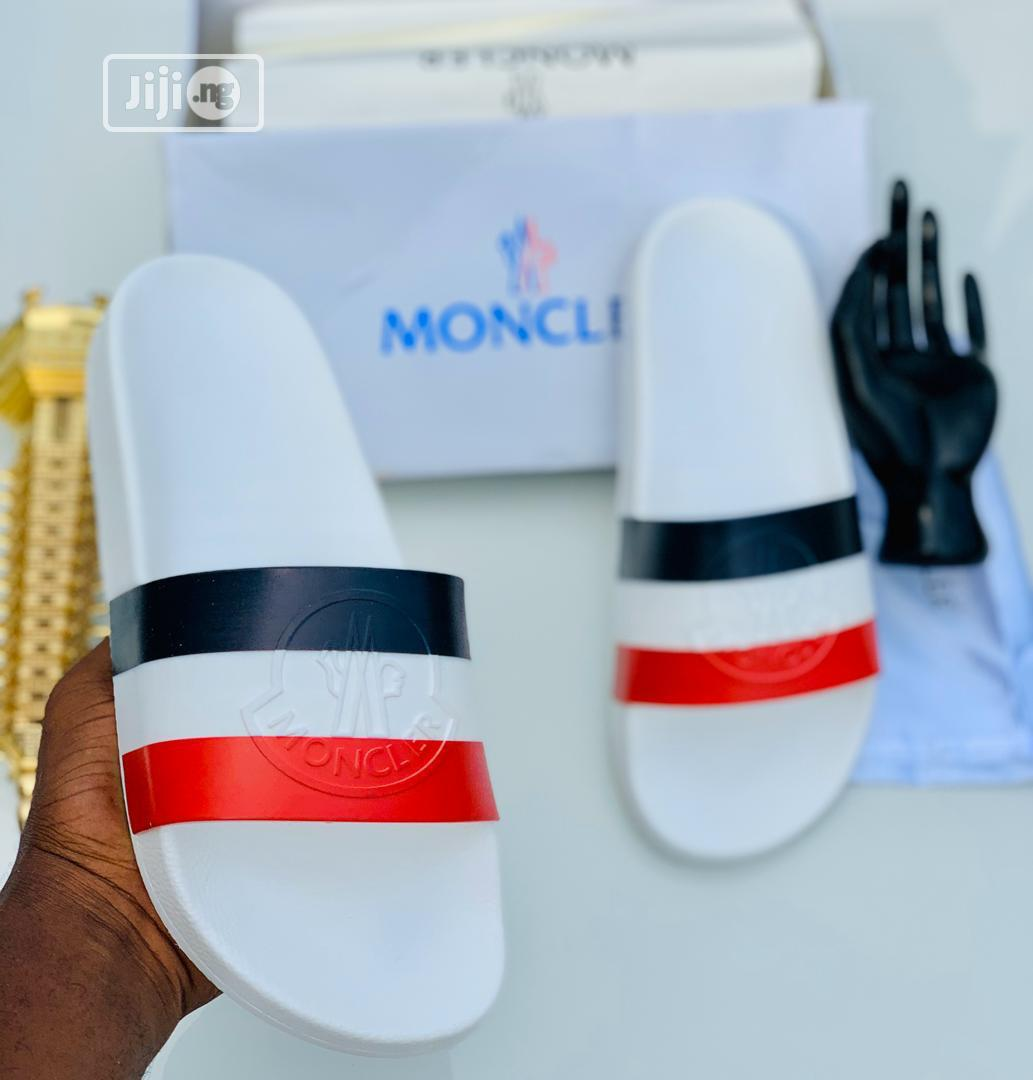 Moncler Men's Slippers | Shoes for sale in Lagos Island, Lagos State, Nigeria