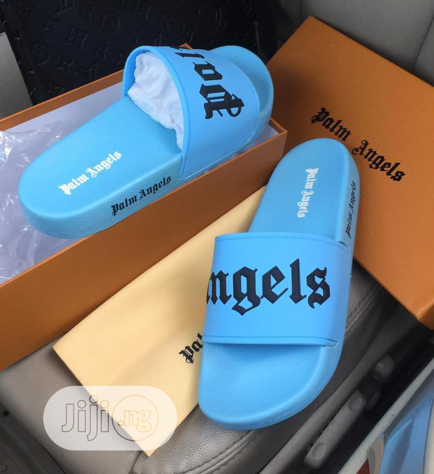 Palm Angles Black Slippers | Shoes for sale in Lagos Island (Eko), Lagos State, Nigeria
