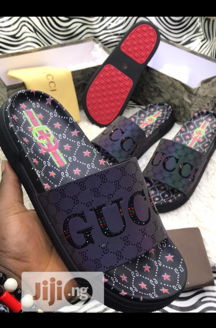 Archive: Gucci Palm Slippers