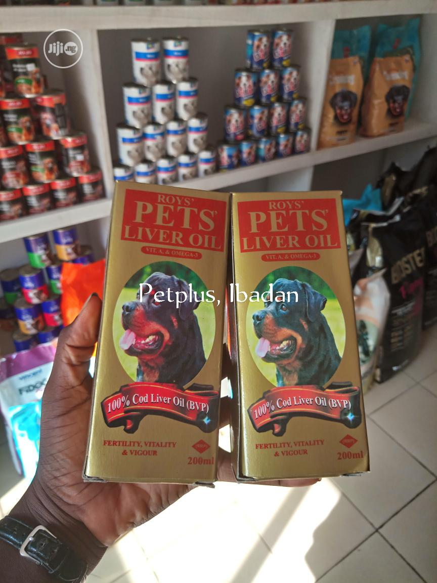 Cod Liver Oil For Dogs