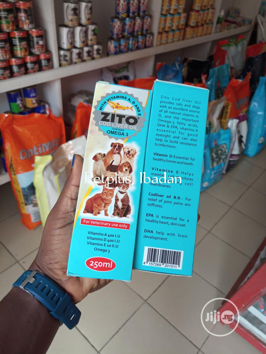 Cod Liver Oil For Dogs | Pet's Accessories for sale in Ibadan, Oyo State, Nigeria