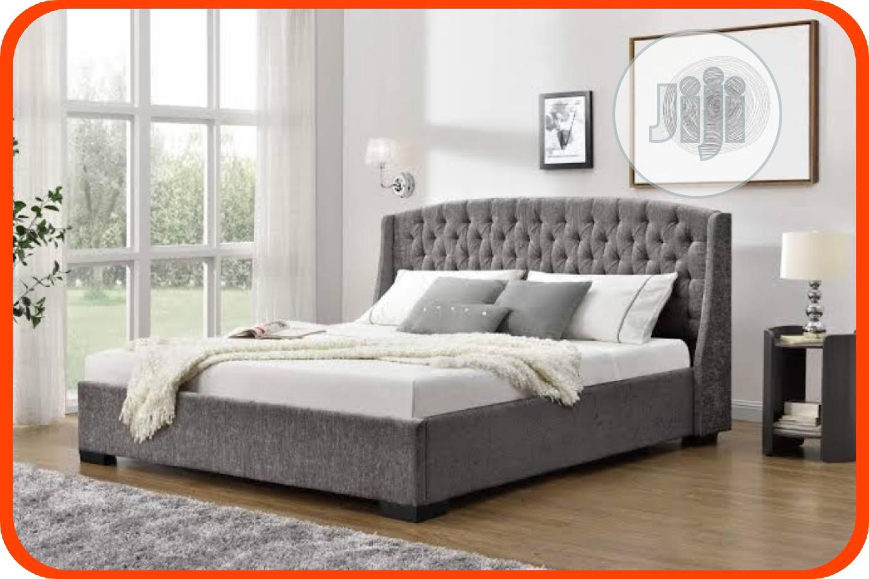 Modern Upholstery Bed Frame 6 By 6 In Ikeja Furniture Ndubuisi Kalu Jiji Ng