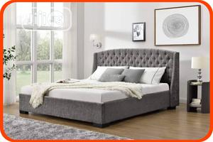 Modern Upholstery Bed Frame,6 By 6   Furniture for sale in Lagos State, Ikeja