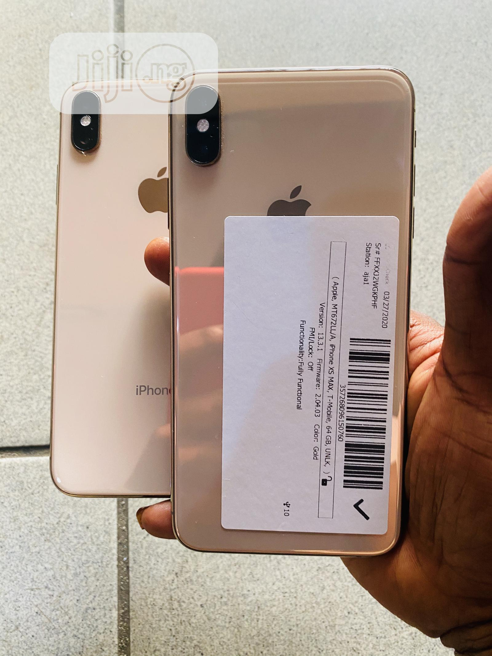 Apple iPhone XS Max 64 GB | Mobile Phones for sale in Ikeja, Lagos State, Nigeria