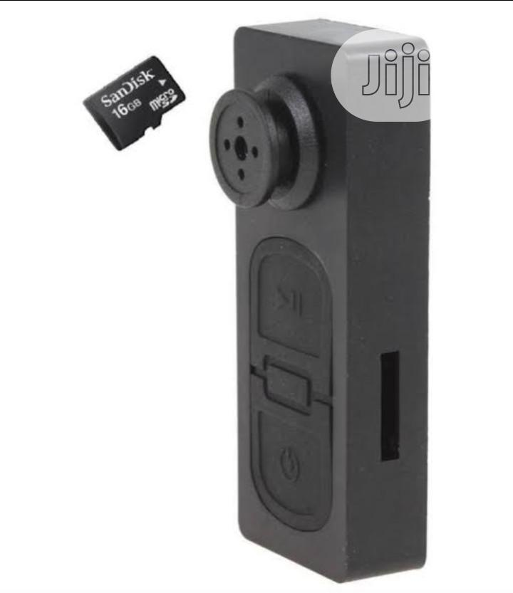 Spy Button Camera | Security & Surveillance for sale in Ikeja, Lagos State, Nigeria
