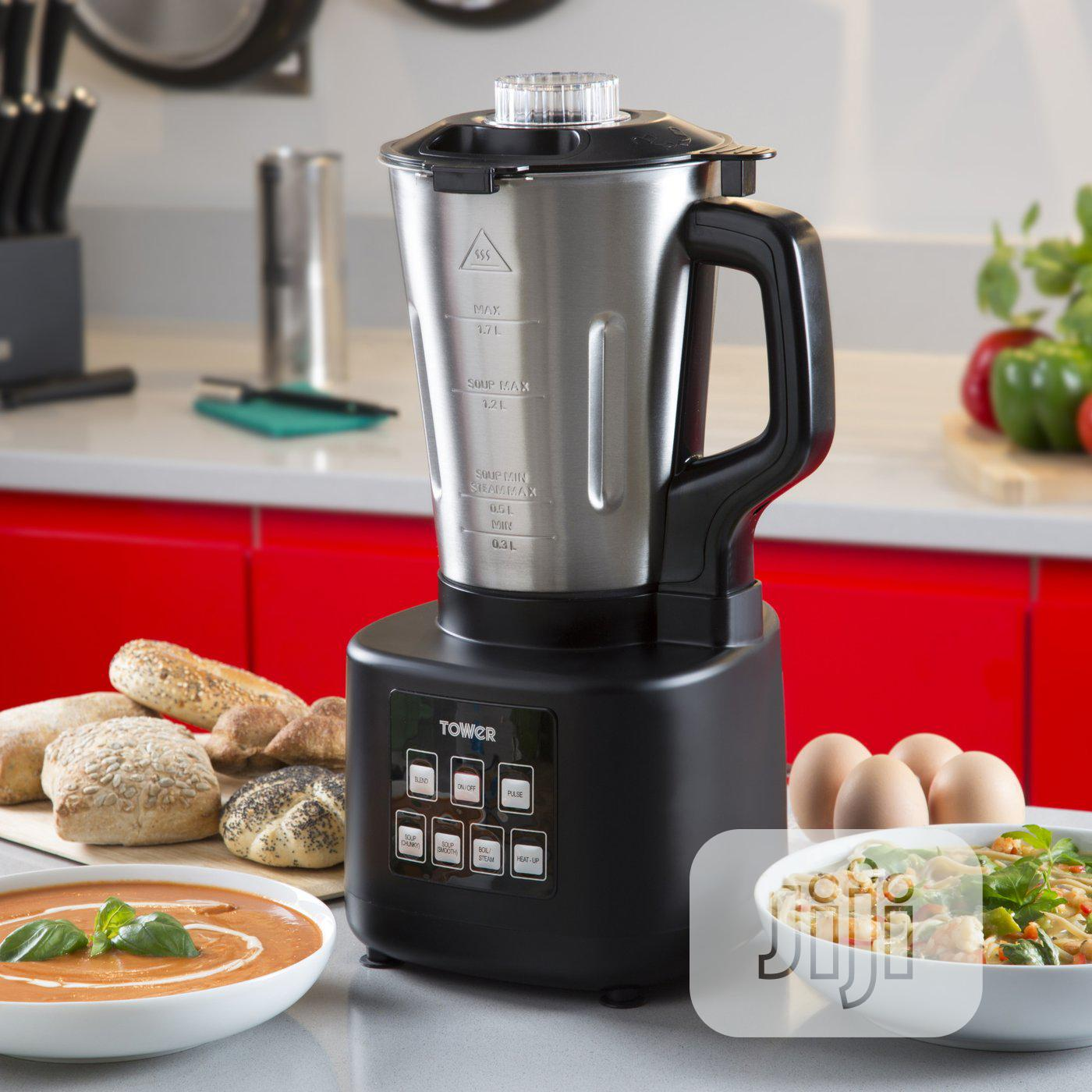 TOWER T12026 1.7L Stainless Steel Soup Maker 1200w