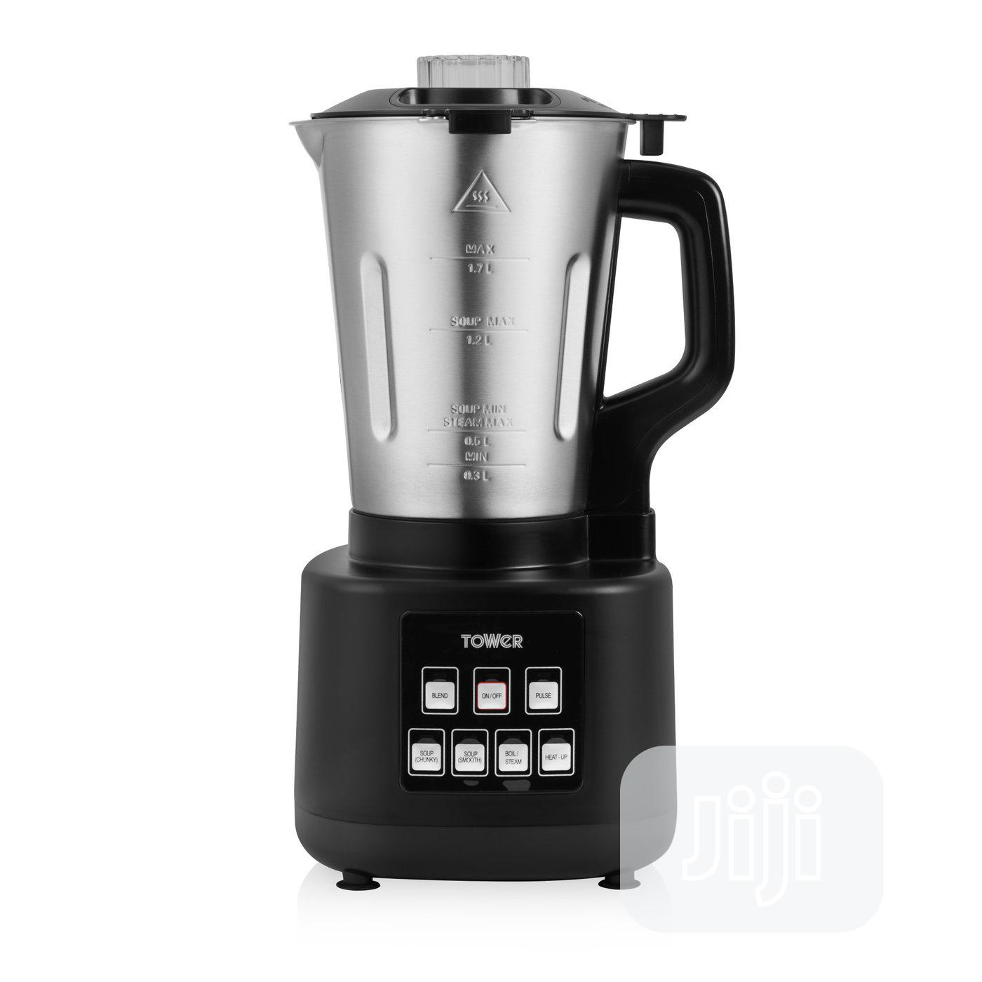 TOWER T12026 1.7L Stainless Steel Soup Maker 1200w | Kitchen Appliances for sale in Lekki, Lagos State, Nigeria