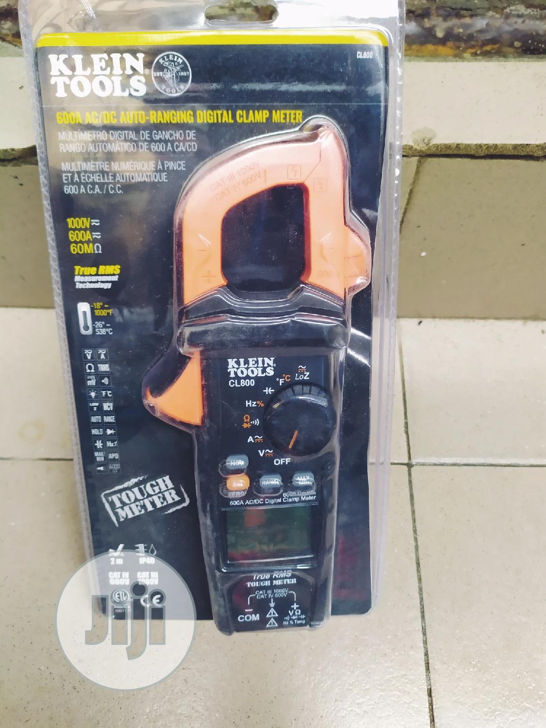 Archive: Klein Tools AC-DC Clamp Meter