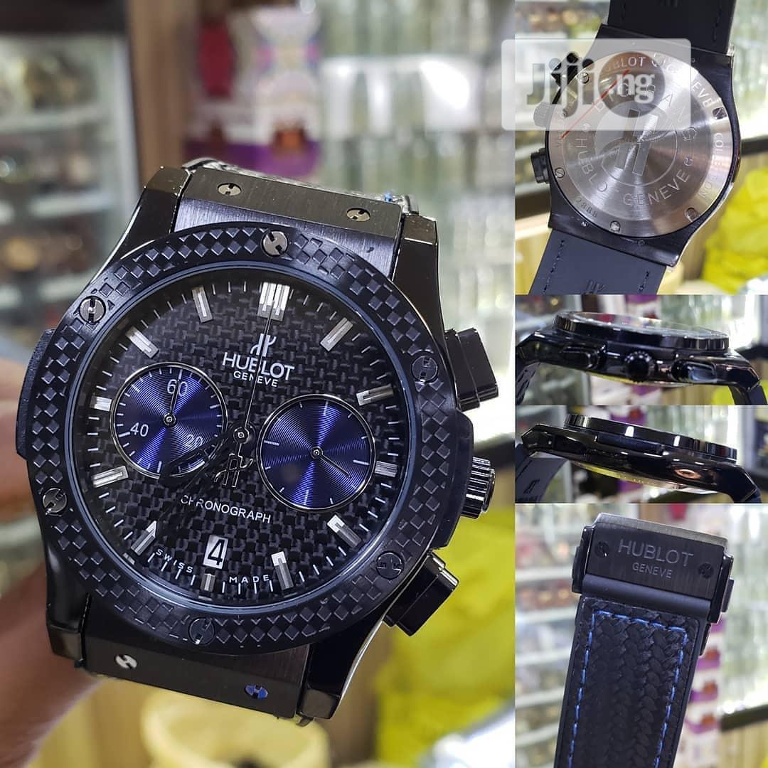 Original Hublot Leather Wristwatches | Watches for sale in Oshimili South, Delta State, Nigeria