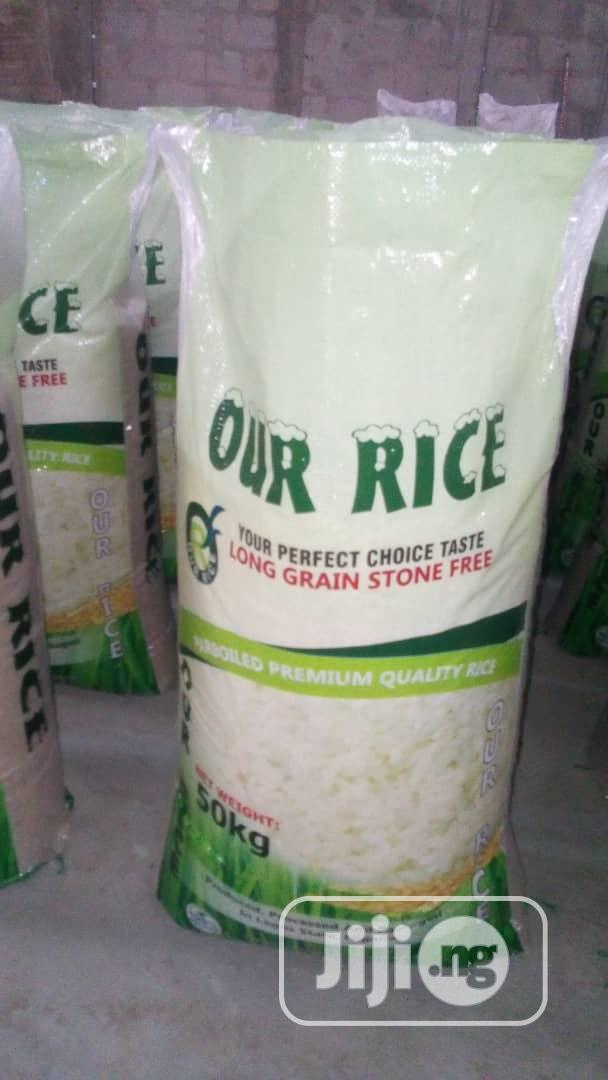 Archive: Perboiled Nigerian Rice